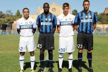 Le tre nuove divise dell'Inter 2009-2010