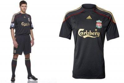 Maglia Liverpool 2009-2010 da trasferta