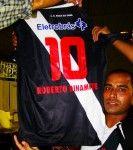 Il retro della nuova maglia del Vasco da Gama