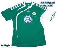 Seconda maglia del Wolfsburg 2009-2010