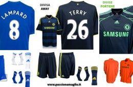 Le nuove maglie del Chelsea 2009-2010