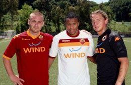 Le maglie della Roma 2009-2010