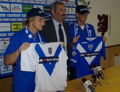 Le nuove maglie del Brescia 2009-2010