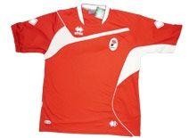 La seconda maglia del Bari 2009-2010