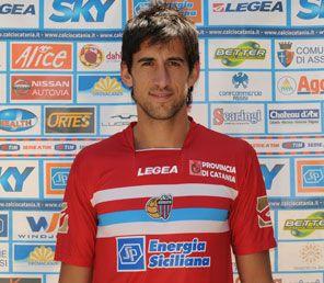 Spolli indossa terza maglia Catania 2009-2010