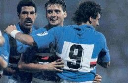 Vialli e Mancini ai tempi della Sampdoria