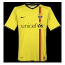 Maglia Barcellona 2008-2009 away