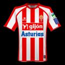 Maglia Sporting Gijòn 2008-2009 home