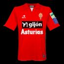 Maglia Sporting Gijòn 2008-2009 away