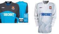 Le due maglie dei portieri del West Ham 09-10