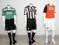 Prima, seconda e terza maglia del Siena 2009-2010