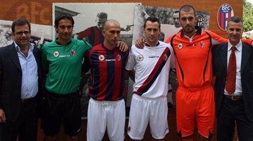 Le nuove divise del Bologna 2009-2010