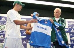 La nuova maglia del Palmeiras 2009