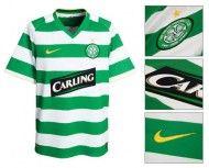 Prima maglia Celtic 2008-2010