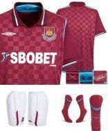 Prima maglia Home West Ham 2009-2010
