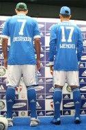 La nuova maglia del Palmeiras vista da dietro