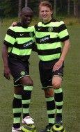 Seconda maglia away Celtic 09-10