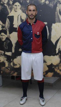 La maglia del Centenario del Bologna FC