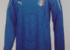 Nuova maglia azzurra Italia 2010
