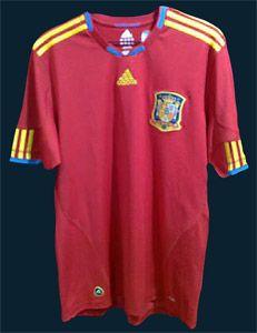 Maglia nazionale spagnola 2010