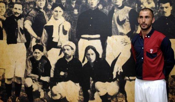 Di Vaio maglia Bologna 100 anni