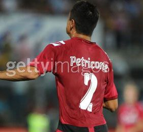 Perticone in Livorno-Milan indossa una maglia con il cognome sbagliato