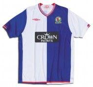 Prima maglia Blackburn Rovers 2009-2010