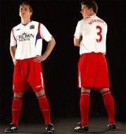 Seconda maglia Blackburn Rovers 2009-2010