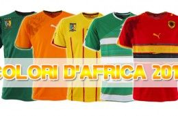 Maglie Coppa Africa 2010