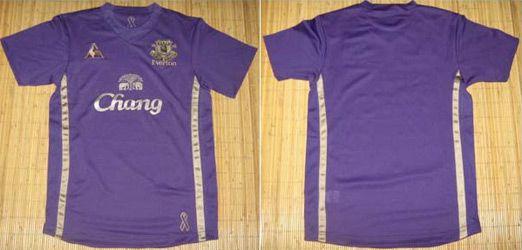 La terza maglia dell'Everton 2009-2010