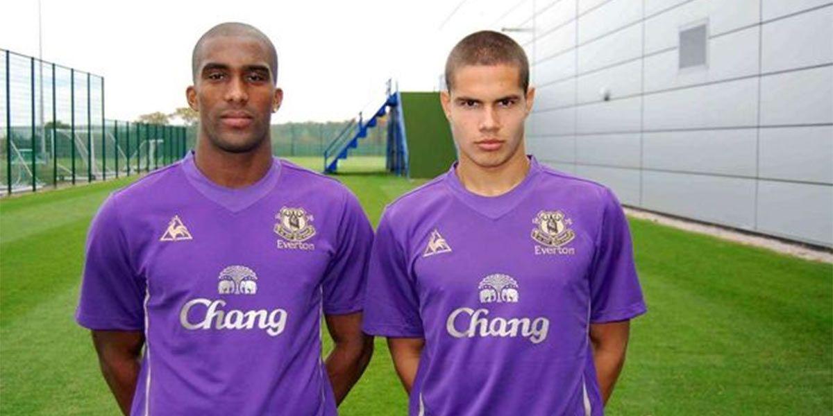 Everton third kit 2009-2010