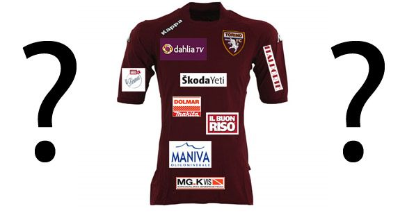 Valzer sponsor maglia Torino