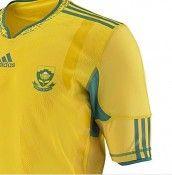 Logo del Sudafrica presente solo sulle maglie da gioco