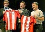 La presentazione della nuova maglia del Paraguay