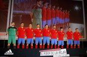 La presentazione a Madrid