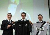 Lo sponsor Iveco anche sulla maglia degli All Blacks