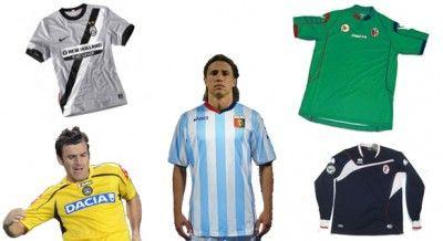 La terza maglia delle squadre di Serie A