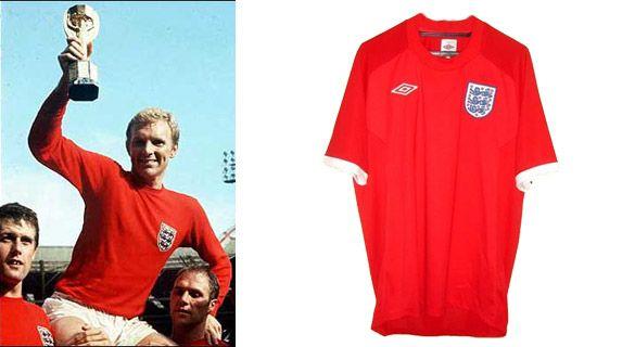Anteprima maglia Inghilterra 2010