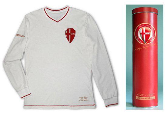 Maglia dei 100 anni del Padova Calcio