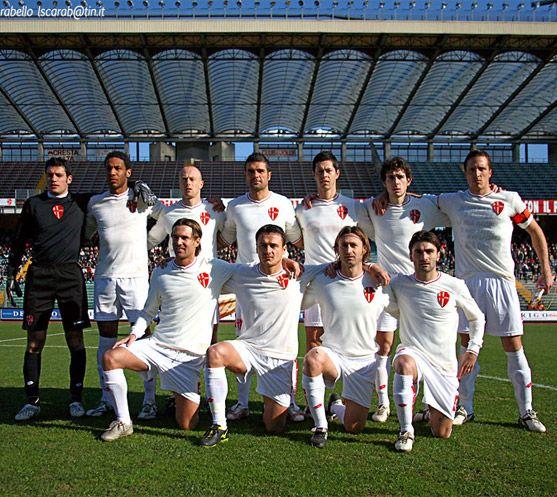 Foto della squadra prima di Padova-Verona