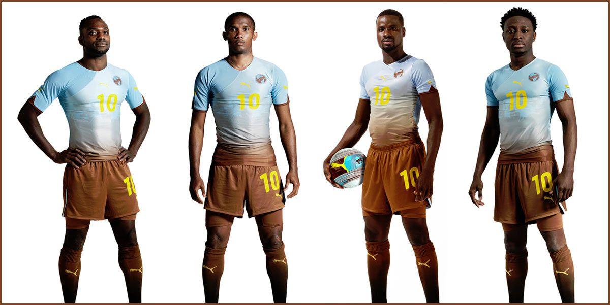 Africa kit Puma