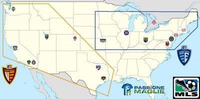 Mappa MLS 2010