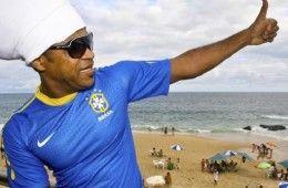 Maglia Brasile durante il Carnevale