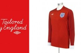 Maglia Inghilterra away rossa 2010