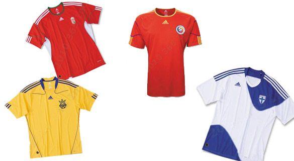 Maglie adidas Mondiali 2010