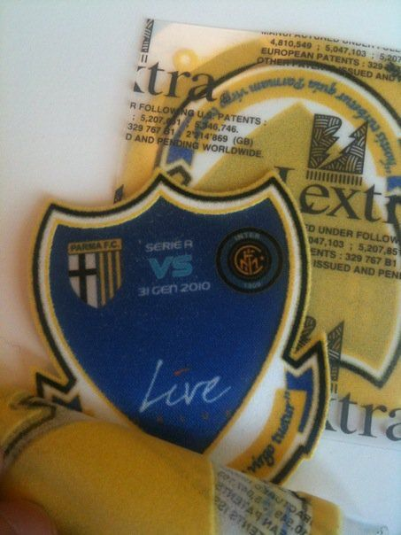 Toppa Live Onlus in Parma-Inter