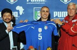 Presentazione maglia Italia 2010-12
