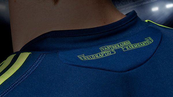Retro colletto maglia Ajax 2010-2011