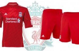 Liverpool Adidas maglia 2010-2012