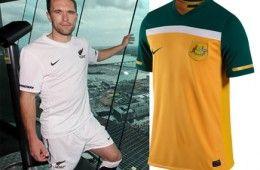 Nuova Zelanda e Australia maglie 2010-2012